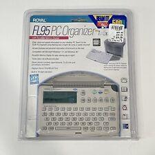 New listing Royal Fl95 Pc Organizer 8kb RoyalGlo NiteVu 00001326 E Display Windows Compatible New