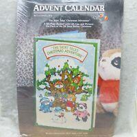 Vintage Hallmark Shirt Tales Advent Calendar Christmas Adventure Book 1980s