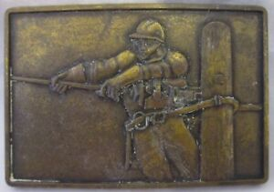 """Vintage Solid Brass Wire Worker 3"""" Long"""