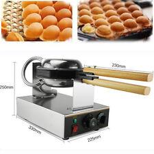 110V Electric Egg cake oven QQ Egg Waffle Maker egg waffle machine