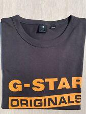 G-Star Raw T-Shirt Mens Size UK Medium, Grey