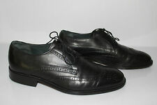 Derby shoes SIOUX Black Leather UK 10 / FR 44,5 VERY GOOD CONDITION