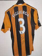 Maynor Figueroa Honduras Match Worn & Signed Hull City 2013/14 Season Home Shirt