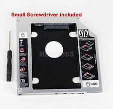 2nd SATA Hard Drive SSD Caddy for Dell Latitude E5430 E5530 replace DS-8D9SH DVD