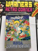 Sega Game Gear Retro gaming Game Factory Panic Boxed W/ Manual Cib