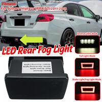 For Subaru Impreza WRX STi 11-19 Rear Light LED Fog Brake Reverse Backup Light