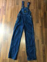 Vintage USA-Made Washington Dee Cee Sanforized Denim Overalls - Size Youth 8