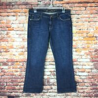 Old Navy Womens Size 10 Short Stretch The Sweetheart Bootcut Dark Wash Jeans