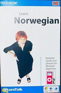 Eurotalk Talk Now Learn Norwegian for PC, Mac Beginners Course EC.         S