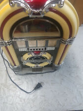 Vintage Crosley CR-11 Tabletop Jukebox AM / FM Radio w/ Cassette player lights