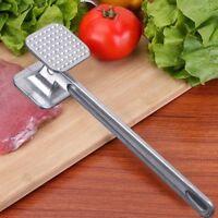 Heavy Duty Metal Meat Tenderiser Hammer - All Flatten Poultry Fillets Tenderise