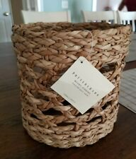 POTTERY BARN Small Woven Sleeve 100% Seagrass - NEW NWT