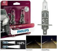 Philips VIsion Plus 60% H1 55W Two Bulbs Head Light High Beam Plug Play Lamp OE
