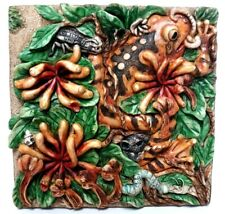 "Harmony Kingdom Picturesque ""A Frog'S Life"" 3D Magnet Tile ~Byrons Secret Garden"