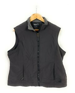 Wild Country Black High Neck Full Zip Insulated Vest Plus Size Womens 16