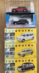 5 CORGI LLEDO VANGUARDS Austin Morris 1300 Estate model road cars 4802 5601 1:43