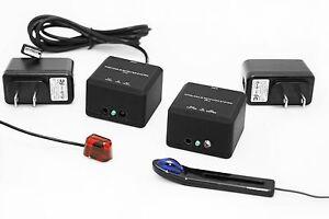Infrared Resources compact Wireless 20-60kHz IR Repeater Kit, Uverse, AV , CATV