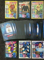 2020 Match Attax Extra UEFA Soccer Cards - Lot of 20 Cards incl 4 shiny
