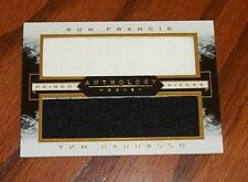 2014-15 Francis/Barrasso Panini Anthology Paired Pieces Dual JERSEY Card! /199!