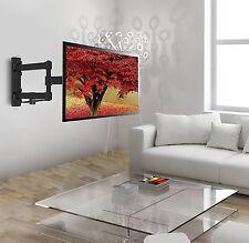 "Articulating Tilt Swivel HD TV Wall Mount 19 22 28 32"" LED LCD Flat Screen"