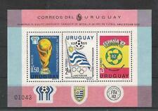 Football Uruguay Block 44 WM 1978 Argentina