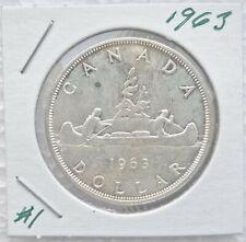 1966  Canadian Silver Dollar 80/% silver super details