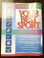 How to Choose YOUR BEST SPORT and Play it Niednagel Genius Athletic Book MBTI