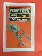 Star Trek Log Two: Alan Dean Foster Ballantine 1979, Paperback 11th Printing