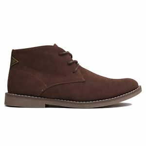 Soviet Mens Desert Boots Casual Shoes Lace Up Style Footwear