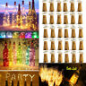 30 20 LEDs Wine Bottle Cork Fairy Lights Warm Cool White Multi-Color Xmas Party