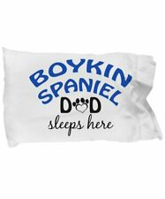 DogsMakeMeHappy Boykin Spaniel Mom and Dad Pillow Cases (Couple)