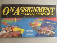 On Assignment with National Geographic Board Game 1990