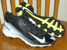 New listing NIKE Youth VAPOR Low Rise Molded Baseball Softball Cleats 684692-010 Sz 2Y Shoes