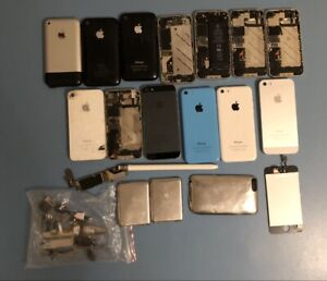 Apple Device Parts Lot iPhone A1203 2G 3G 3GS 4 4S 5 5C 5S iPod Read Description