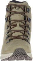 Merrell Ontario Mid Waterproof Men's Olive Hiking Boots 8.5