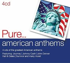 VARIOUS ARTISTS - PURE....AMERICAN ANTHEMS: 4CD SET (September 1st 2014)