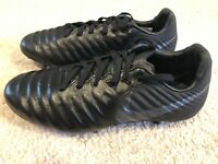 Nike Tiempo Legend Elite FG Junior FG Youth Size 5Y Soccer Cleats Black