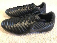 Nike Tiempo Legend Elite FG Junior FG Youth Size 5Y Soccer Cleats Black