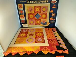 Haba, Arranging Game Indian Summer. Create Patterns With Magnetic Wooden Shapes