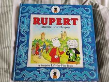 Rupert And The Lost Dragon by Mike Trumble, Children's books