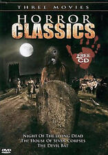 DVD: Horror Classics: Night of Living Dead/The House of Seven Corpses/The Devil