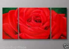 Rose Oil Painting Hand painted Framed Canvas - Ready To Be Hung Last 1