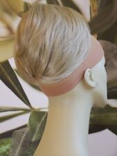 "TWO TONE BLONDE ""BEEHIVE"" BUN HAIR PIECE EXTENSION"