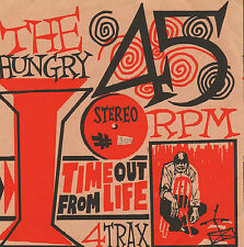 """HUNGRY I - Time Out of Life (1997 VINYL EP 7"""" DUTCH GARAGE/PUNK)"""