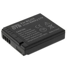 Power Accu Li-Ion Batterie für Panasonic Lumix DMC-LX5