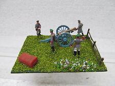 MES-39579 1:72 Artillerie-Stellung Minidiorama bemalt,