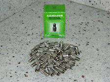Alligator Tire Valve Stem Metal Double Seal Cap Extensions 50 qty.