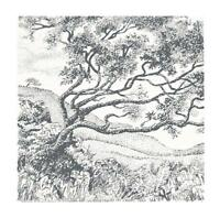 Tree in the Wind Handmade DIGITAL Counted Cross-Stitch Pattern Chart Needlepoint
