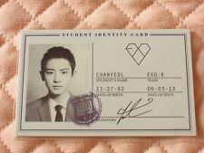(ver. Chanyeol) EXO-K EXO 1st Album XOXO KISS Wolf Photocard (student ID card)