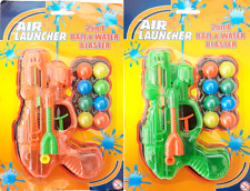 Air Launcher 2 In 1 Ball & Water Blaster Kids Fun Game Toy With 8 Balls